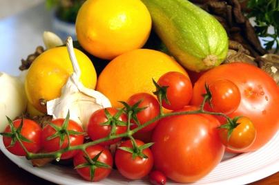Frutas y hortalizas frescas - Caldaria