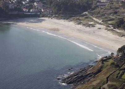 Playa As Canelas - Caldaria