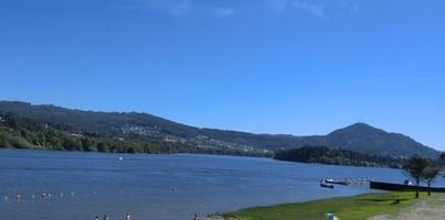 Playa fluvial Goián - Caldaria