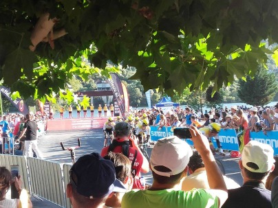 Vista podium La Vuelta