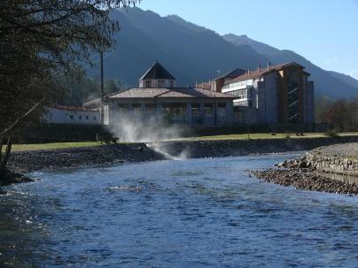 playa fluvial Río Caldo - Caldaria