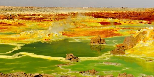 Lago Dallol, Etiopía