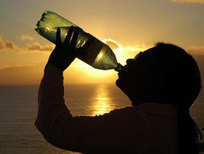 Beber agua -  Caldaria