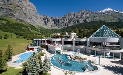 Leukerbad Suiza - Caldaria