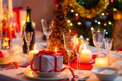 Mesa navideña - Caldaria