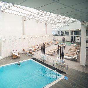 Hotel Balenario Arnoia Piscina Interior