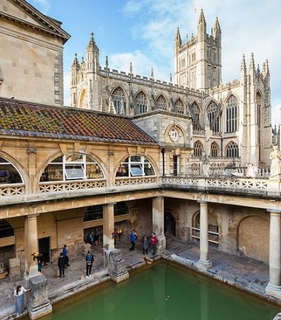 Aguas termales Bath