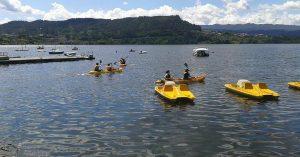 Paseo en kayak | Hotel Balneario Caldaria Arnoia