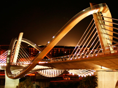Puente del milenio. Foto: @Ourense_Turismo