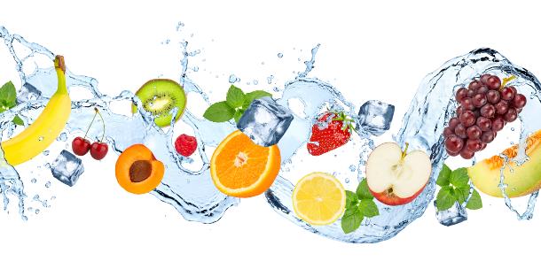 Alimentos con agua